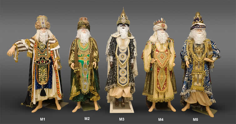 Trajes Reyes Magos